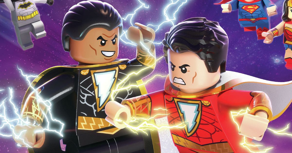 Shazam Magic And Monsters Lego Trailer Info Box Art Cosmic Book News