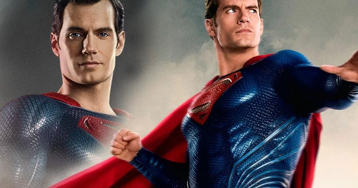 Henry Cavill Superman Vs Justice League Concept Art