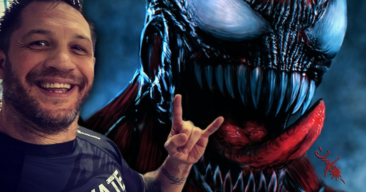 Tom Hardy Teases Carnage For Venom 2 And Jujitsu Cosmic Book News