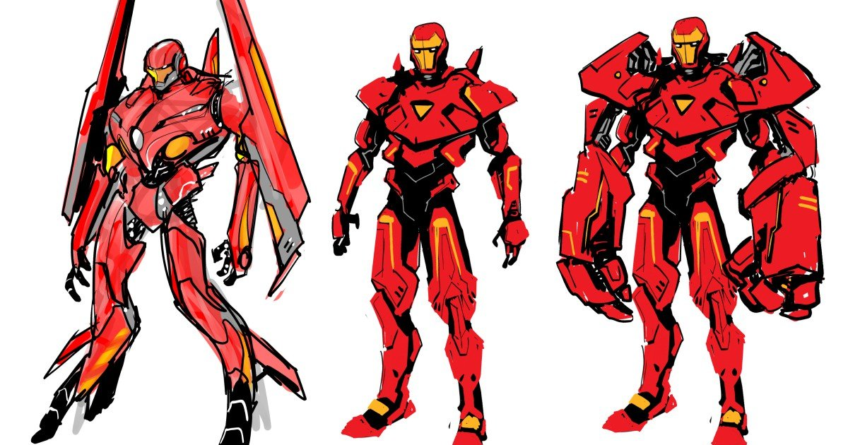 "Marvel Comics ""Tony Stark: Iron Man"" Concept Art"