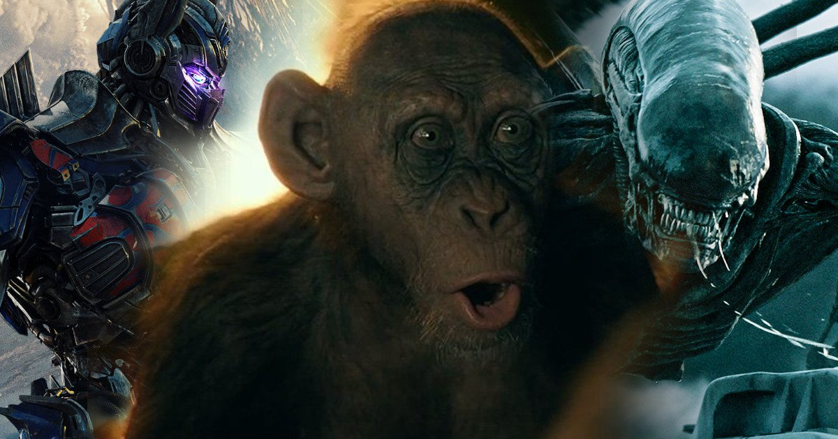 Transformers & Alien Franchises Being Reassesed; More Apes Movies