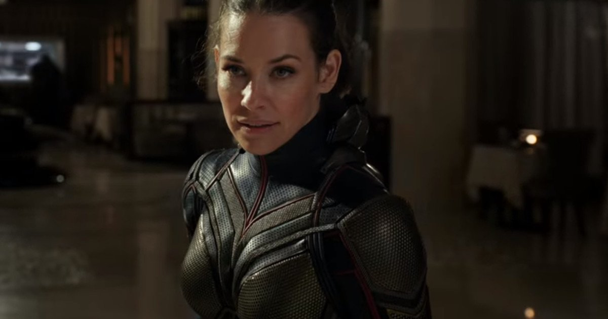 Wasp Smashes Bad Guy In Ant-Man 2 Concept Art