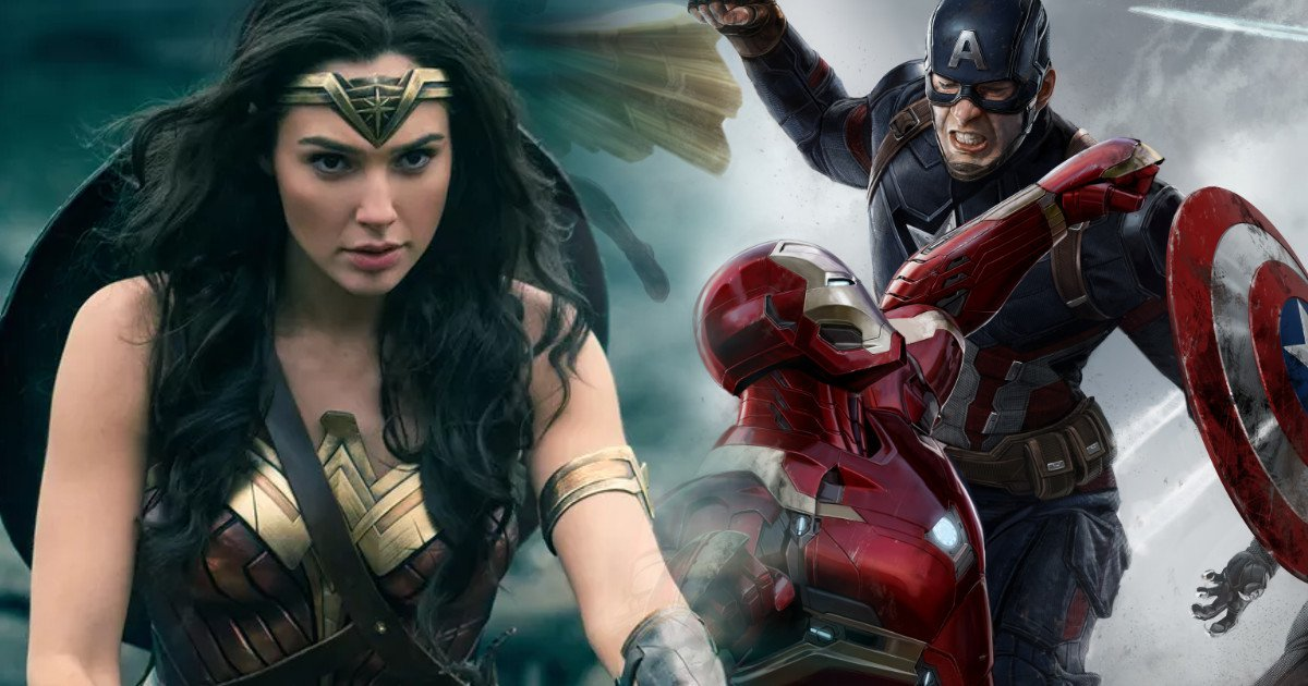 Wonder Woman Passes Captain America: Civil War