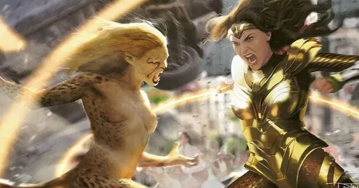 Wonder Woman vs Cheetah(?) Revealed For WW84 | Cosmic Book News