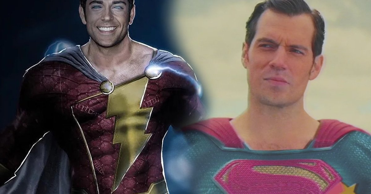 Zachary Levi Feels For Henry Cavill With Shazam Mustache