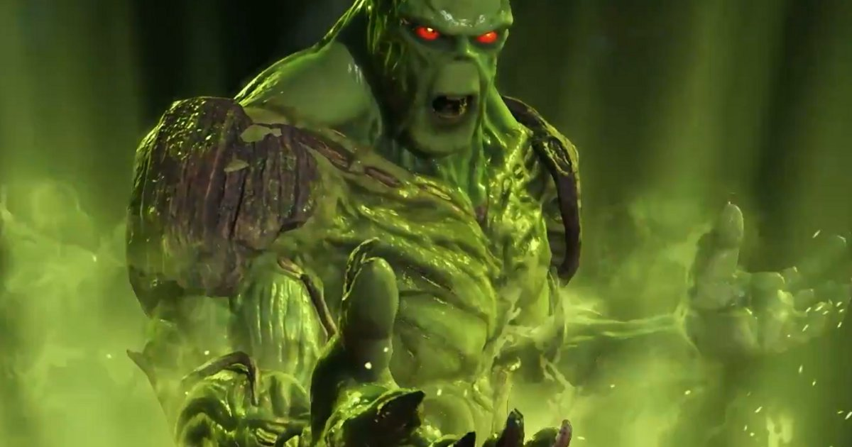 Swamp Thing Confirmed For Injustice 2; Gameplay Reveal Trailer Released