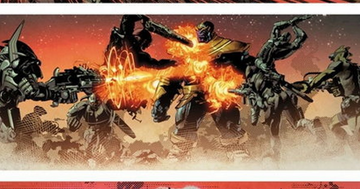 Thanos Family Problems: First Look At Thanos #1 Colored Art By Mike Deodato