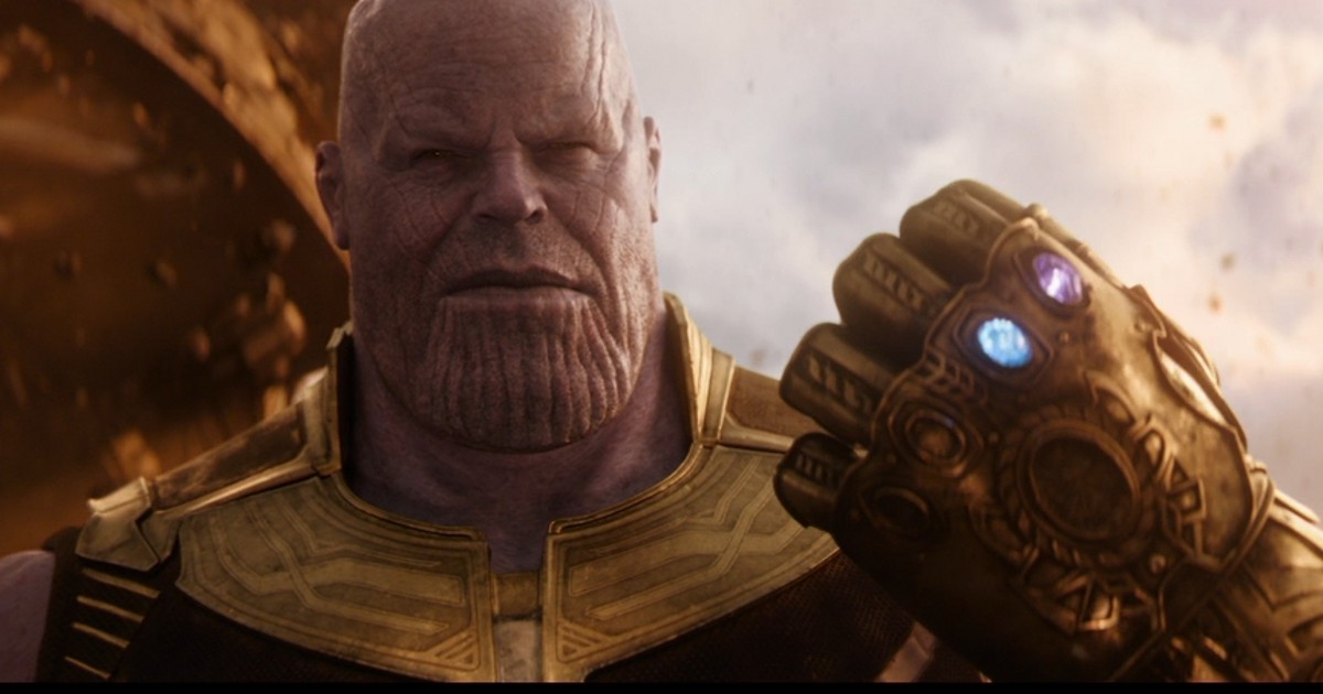 The Avengers: Infinity War Thanos Featured On Empire's ...  Thanos Infinity Gauntlet Movie