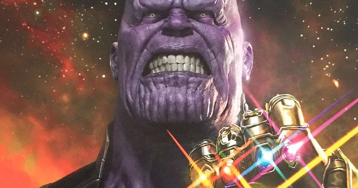 The Avengers: Infinity War Thanos Poster Revealed | Cosmic ...