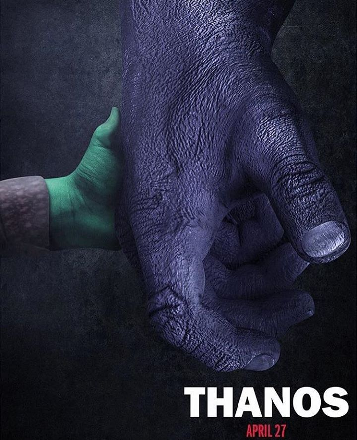 The Avengers: Infinity War Thanos poster
