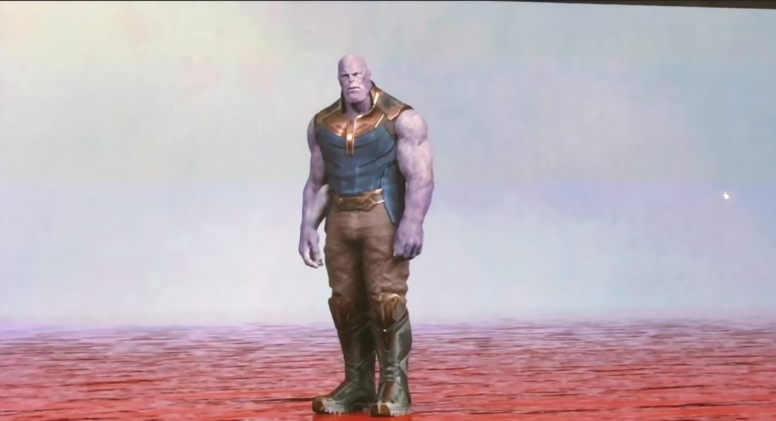 Thanos River Of Blood