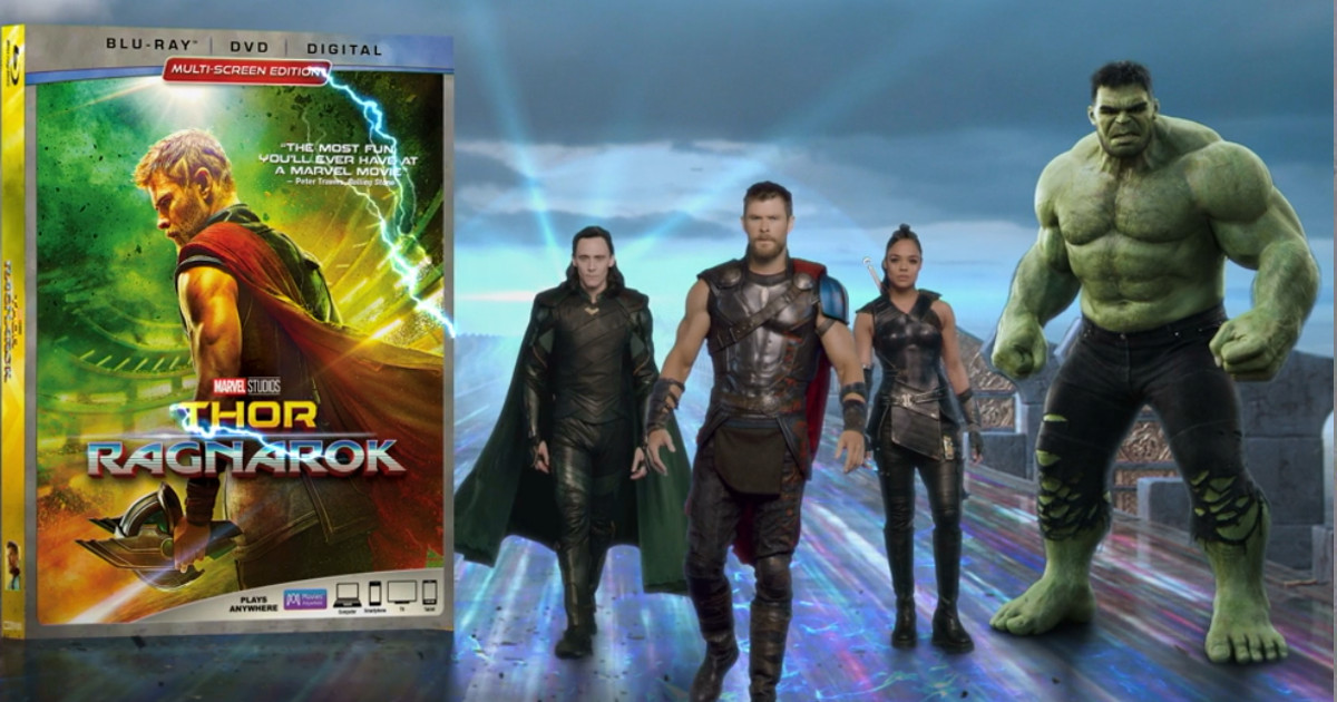 Thor: Ragnarok Will Release To Digital 4k & Blu-ray