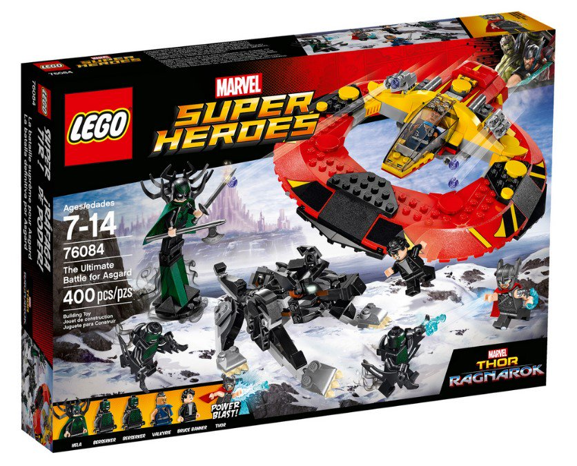 Thor: Ragnarok LEGO Sets Officially Revealed | Cosmic Book News