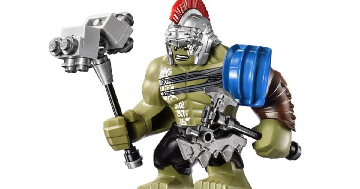 Thor: Ragnarok Lego sets are intricate and adorable