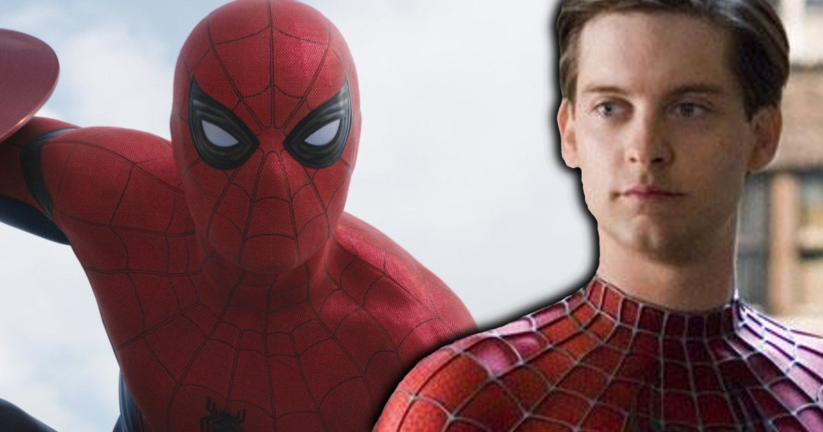 Tobey Maguire Approves Of Spider-Man Tom Holland - Cosmic Book News
