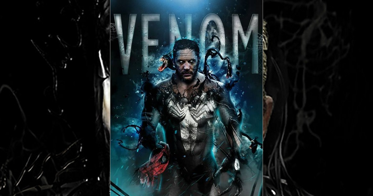 Tom Hardy Battles for Control of His Body in New 'Venom' Scene