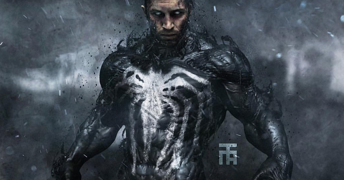 First Look At Tom Hardy In Venom Set Video Cosmic Book News