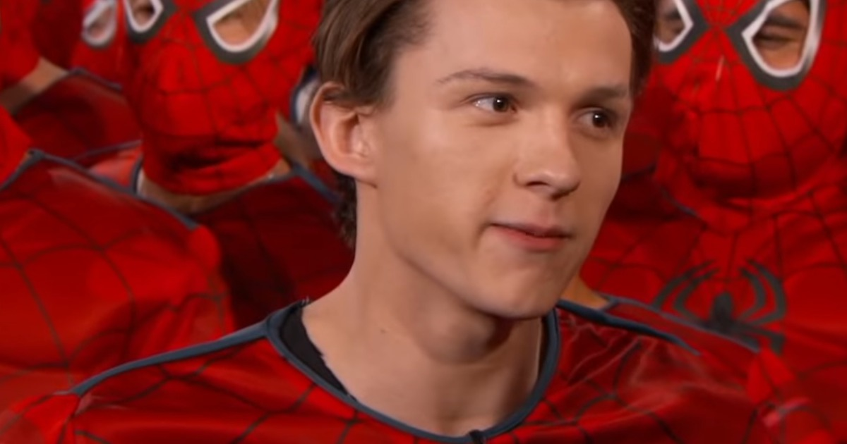 Watch: Tom Holland Debuts Spider-Man: Homecoming Trailer On Jimmy Kimmel