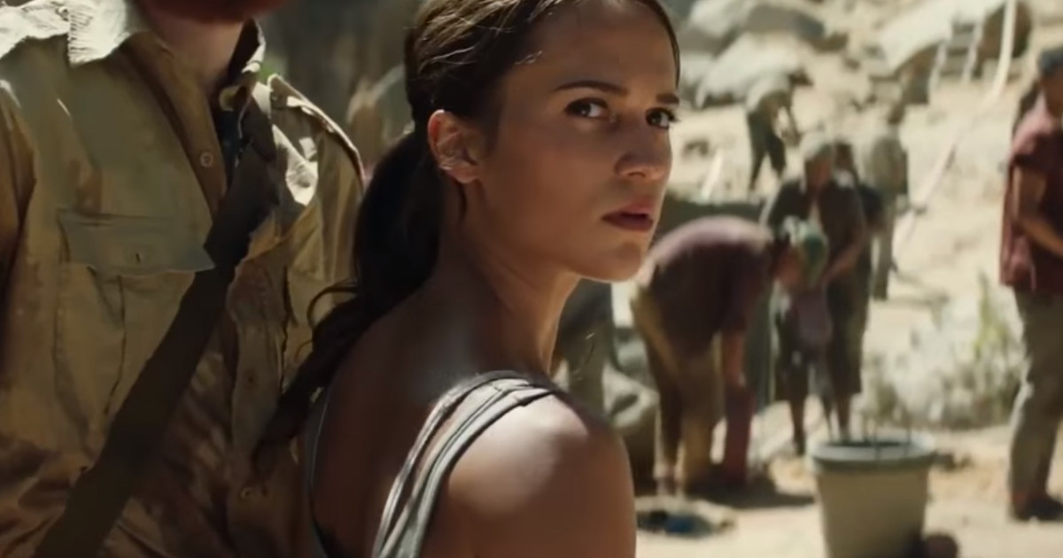 Watch 12 Minutes Of Tomb Raider