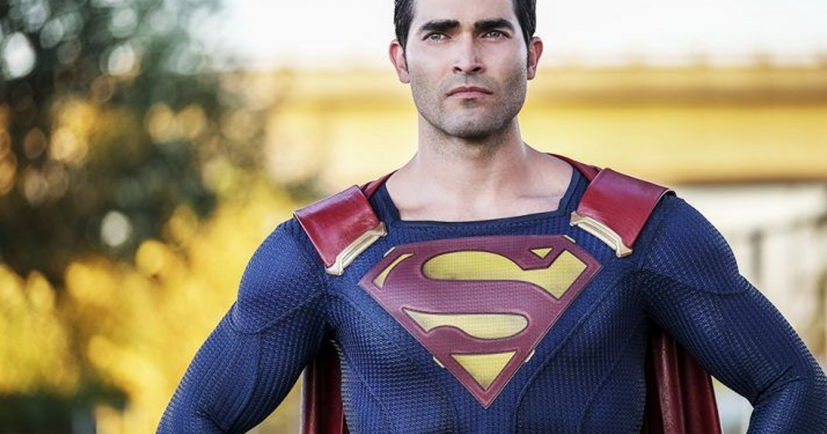No Plans For More Tyler Hoechlin Superman On Supergirl: Ratings Down - Cosmic Book News