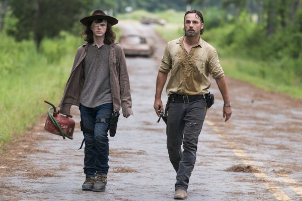 The Walking Dead Carl Chandler Riggs