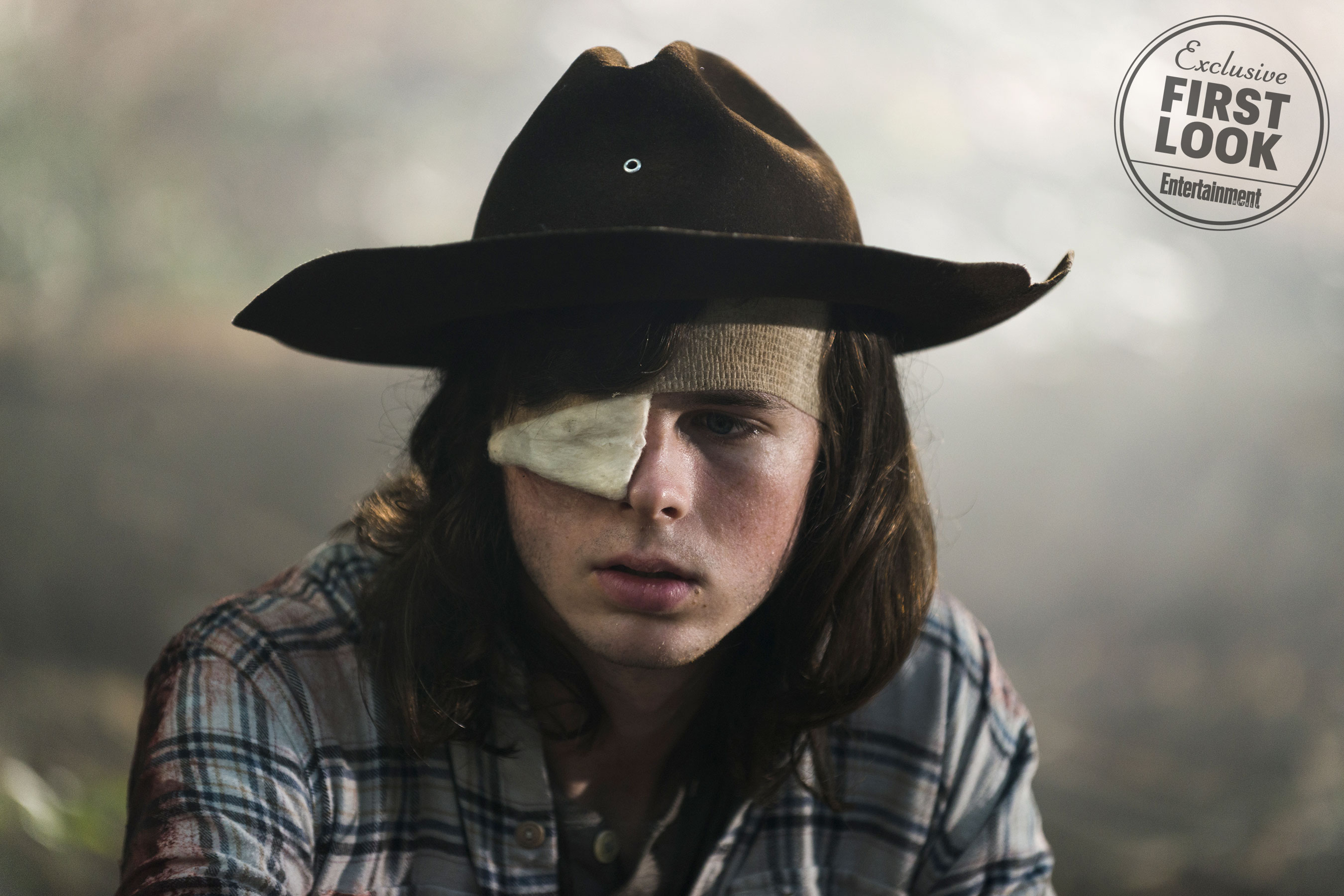 The Walking Dead death of Carl