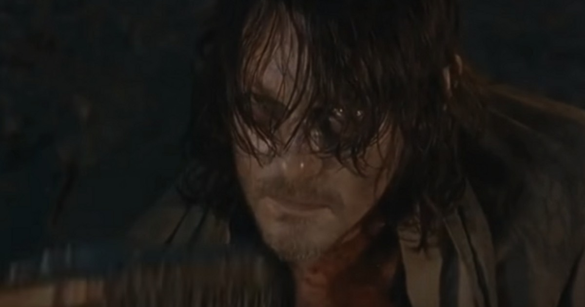the walking dead season 7 preview clip teases death of daryl cosmic book news. Black Bedroom Furniture Sets. Home Design Ideas