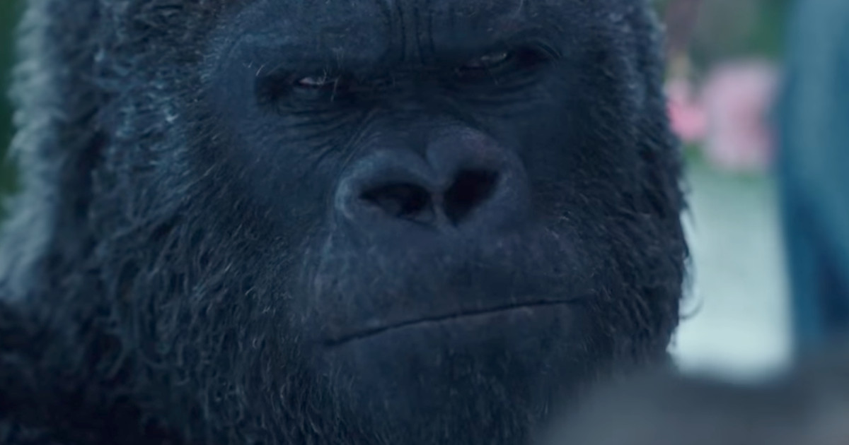New War for the Planet of the Apes Spot