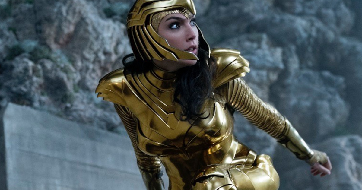 How they made Wonder Woman's iconic Golden armour......