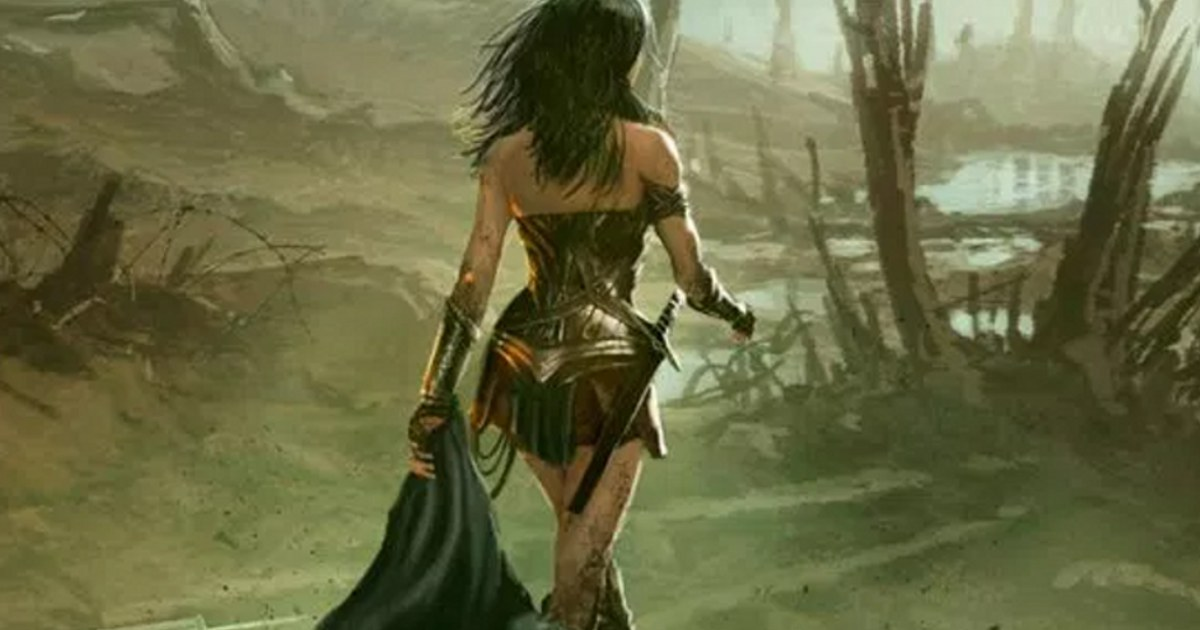 'Wonder Woman' concept art shows Gal Gadot becoming a hero