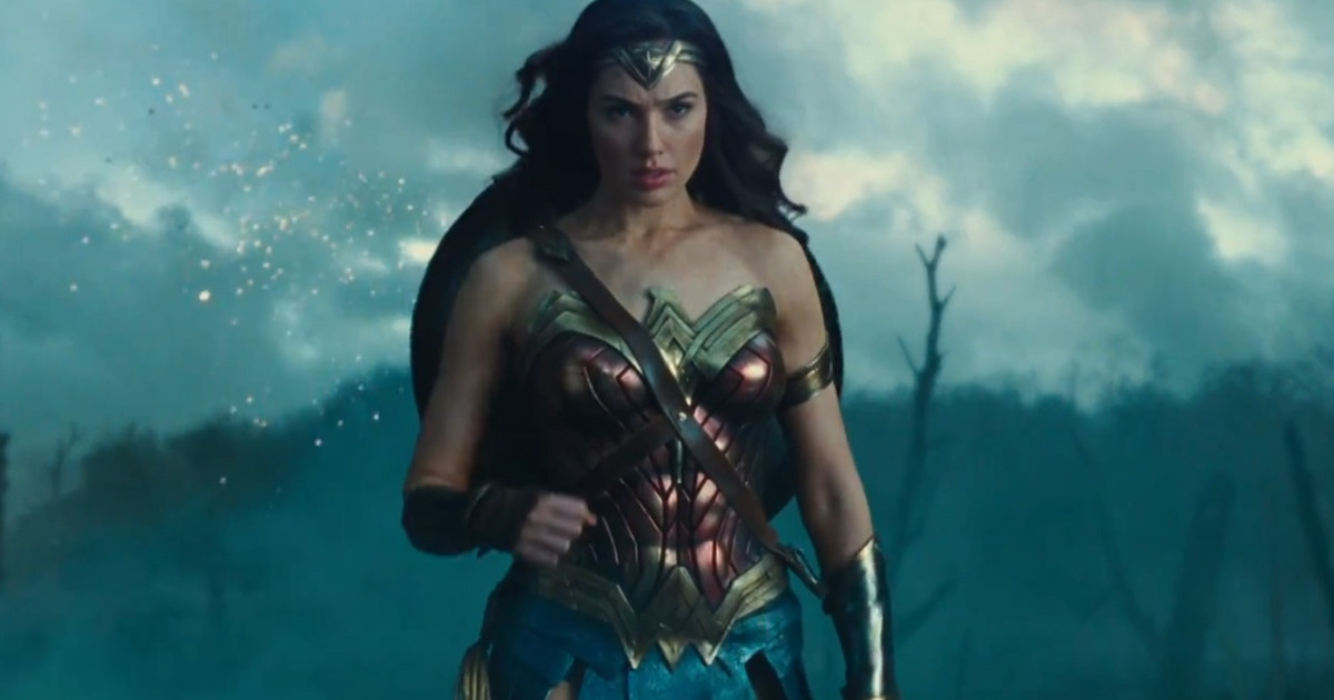 New Wonder Woman concept art released