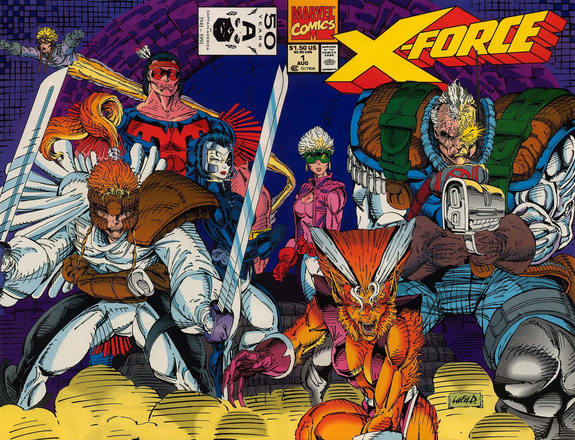 X-Force #1 cover