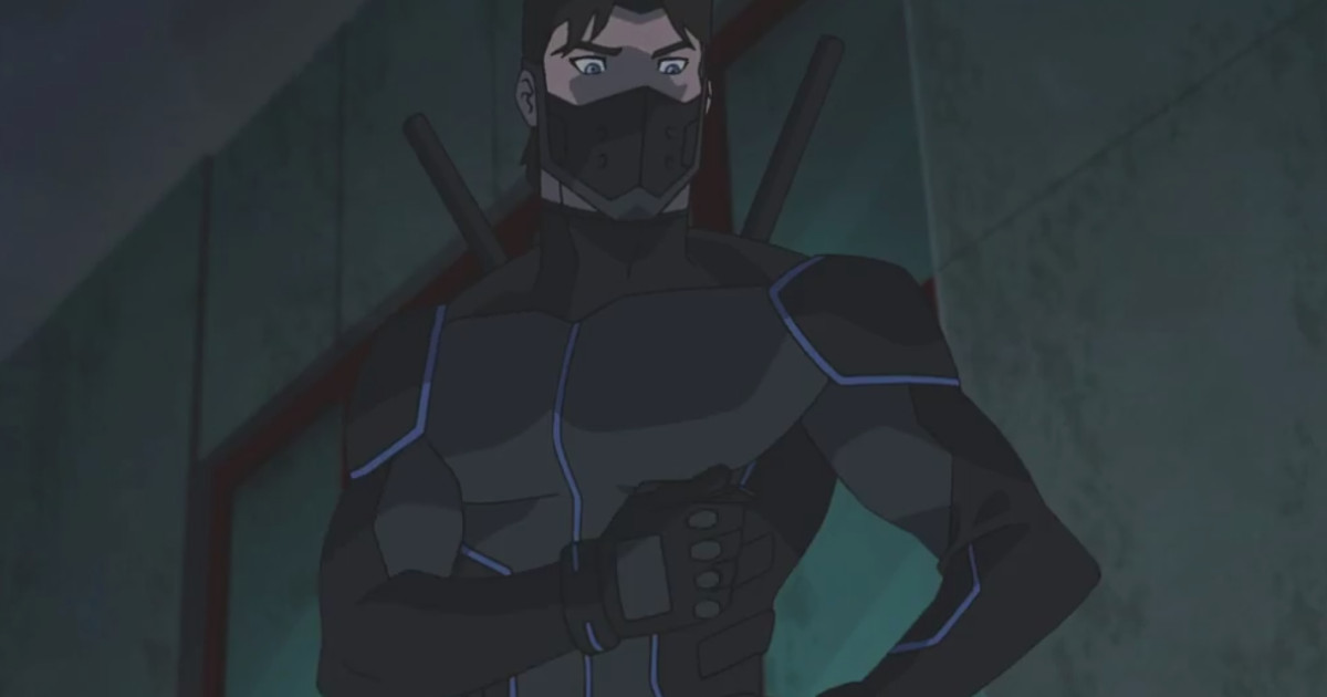 Young justice season 3 nightwing clip cosmic book news - Pictures of nightwing from young justice ...