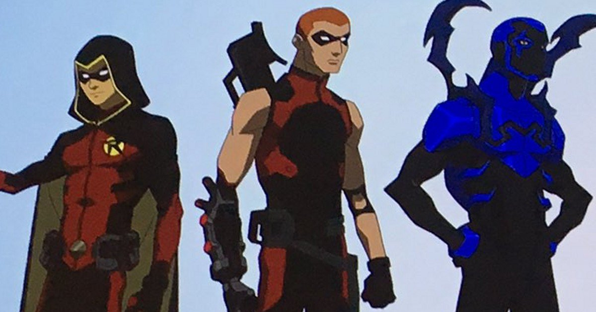 young justice season 3 first look from comiccon cosmic
