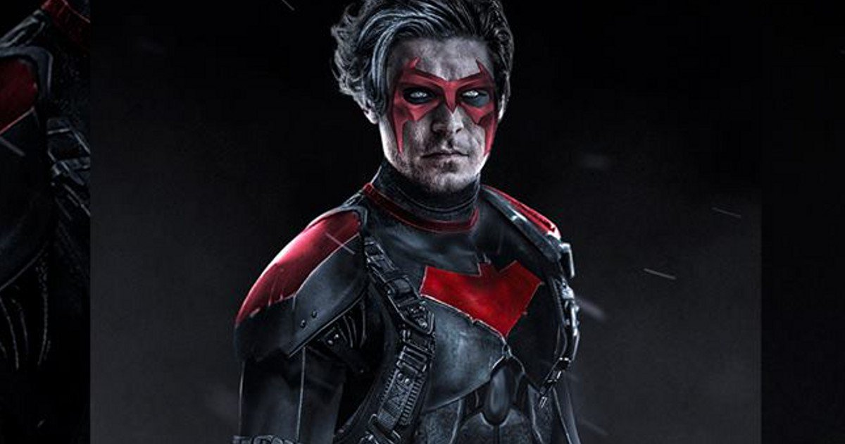 Zac Efron As Red Hood Fan Art For The Batman Movie