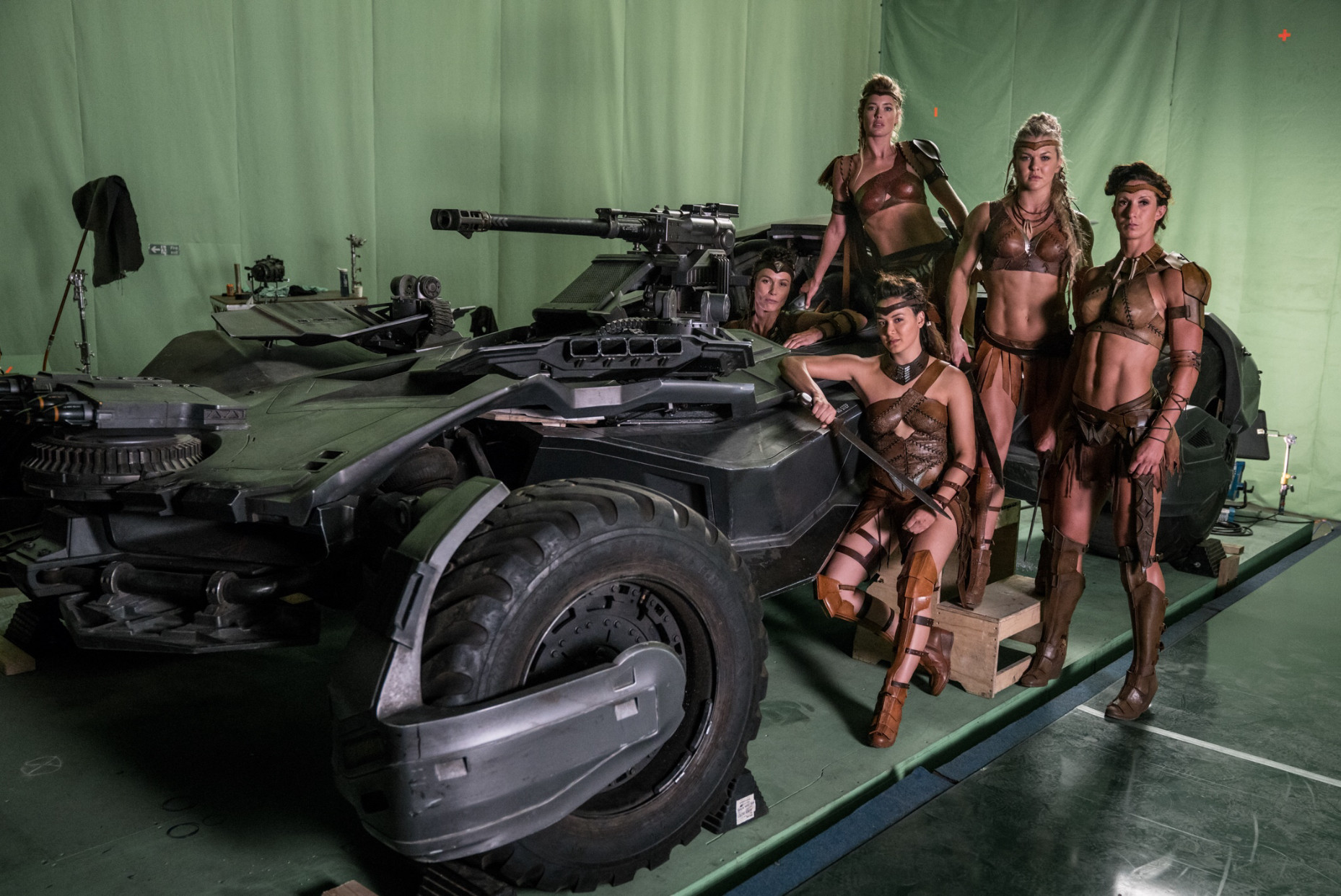 Zack Snyder Batmobile Amazons Justice League