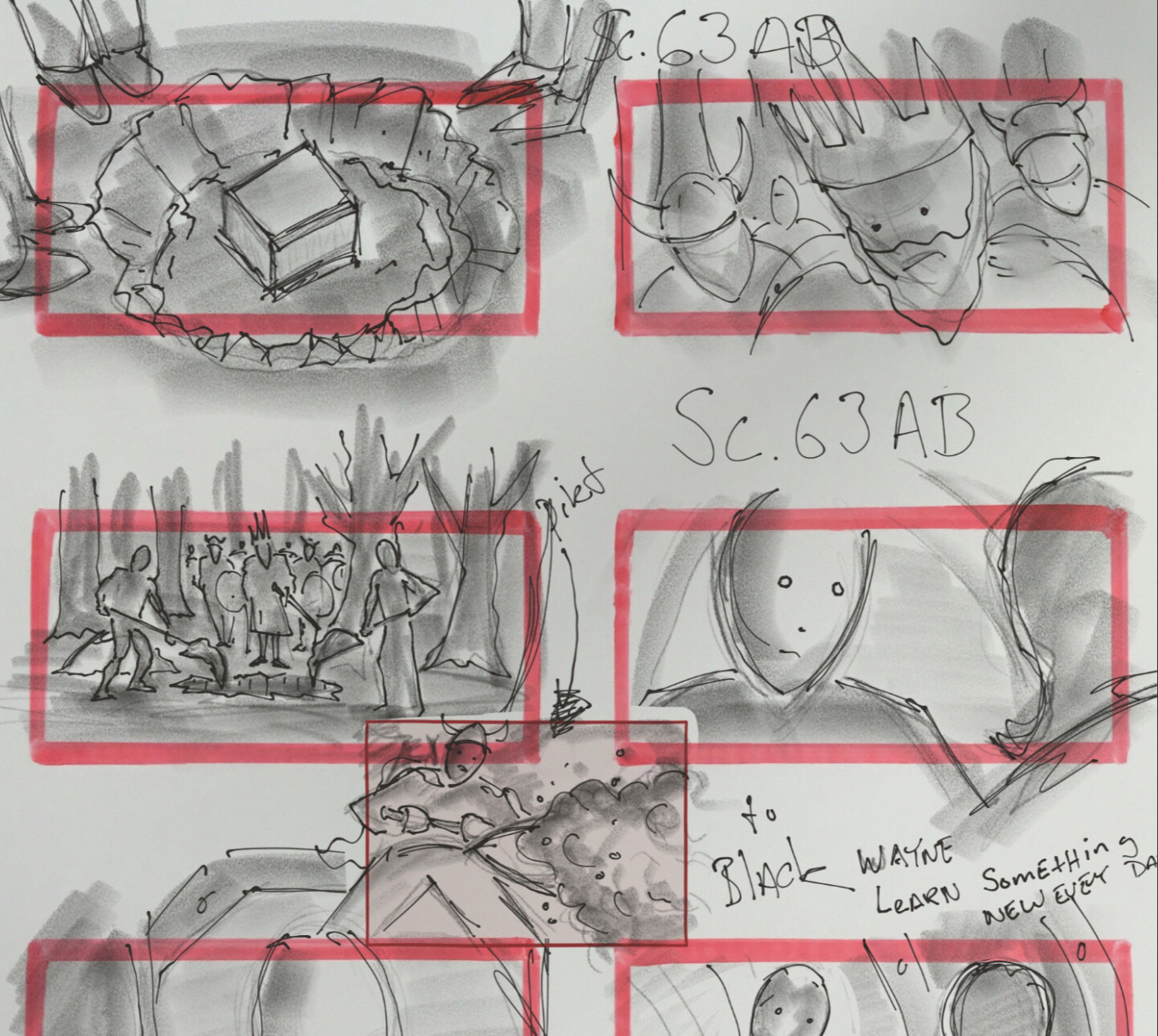 Zack Snyder Shows Off Justice League Storyboards On Vero