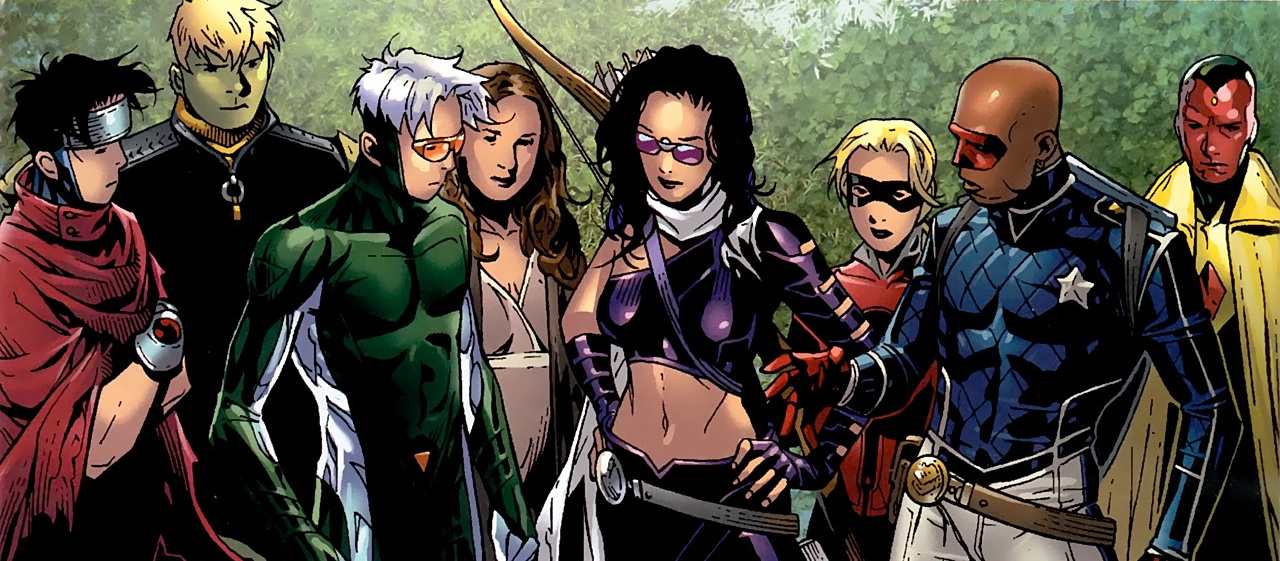 Avengesr 5 young avengers