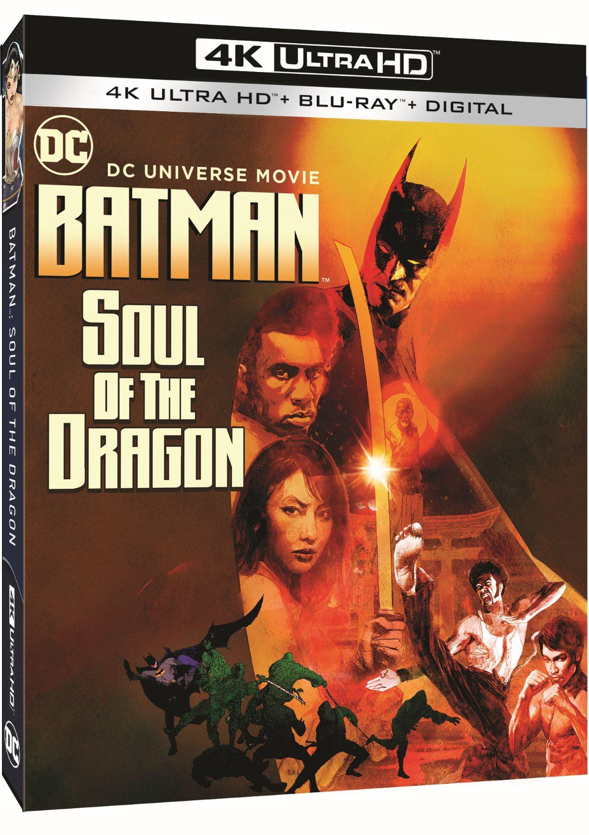 Batman Soul of the Dragon box art