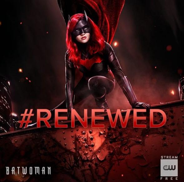 Batwoman renewed