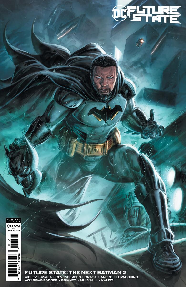 Black Batman Tim Foxx DC Comics