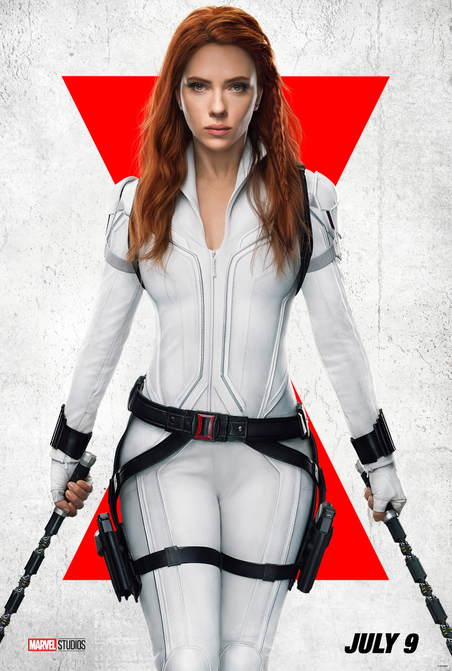 Black Widow Disney Plus posters