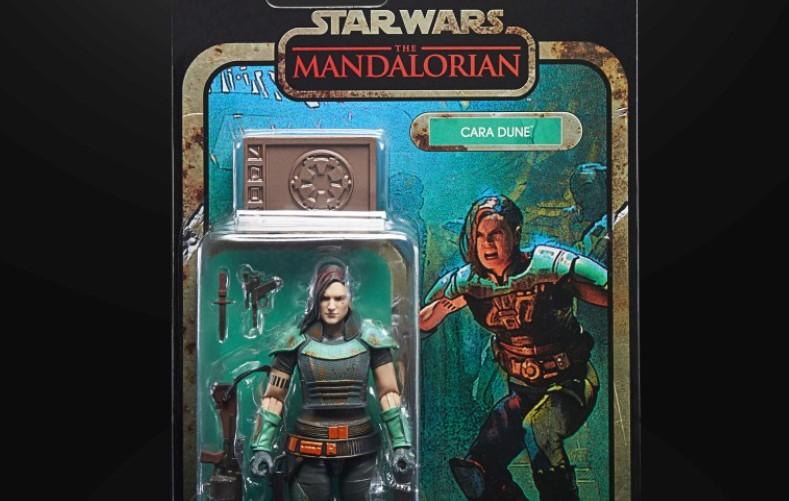 Gina Carano Cara Dune The Mandalorian Hasbro Star Wars figure