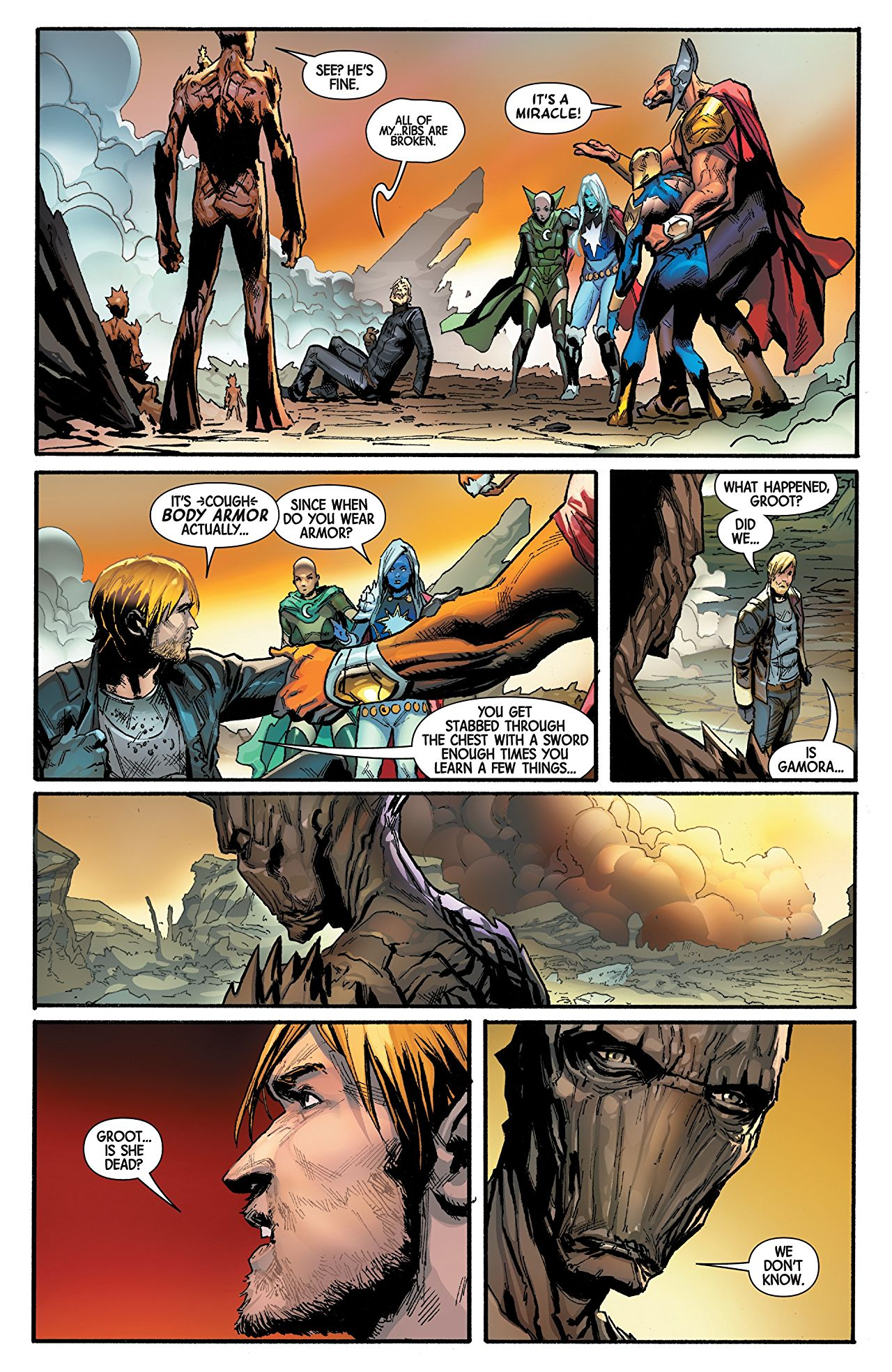 Guardians of the Galaxy #5 Review