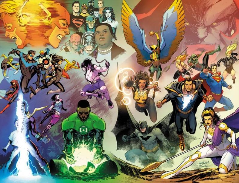 Justice League 59 DC Comics Aquaman