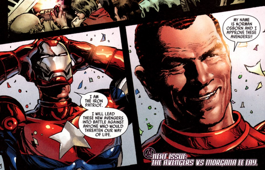 Norman Osborn Dark Reign Marvel