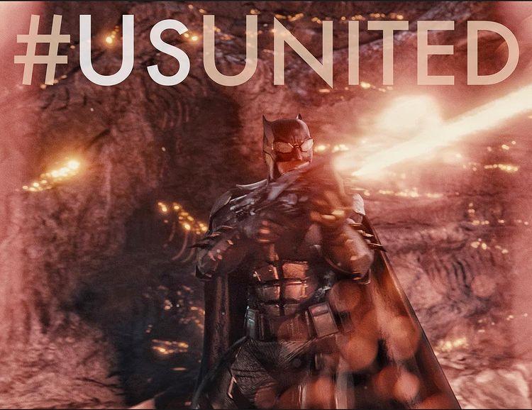 Snyder Cut Ben Affleck as Batman vs Parademons