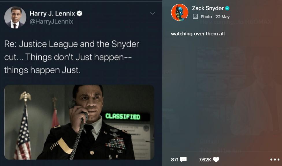 Snyder Cut Martian Manhunter Harry Lennix