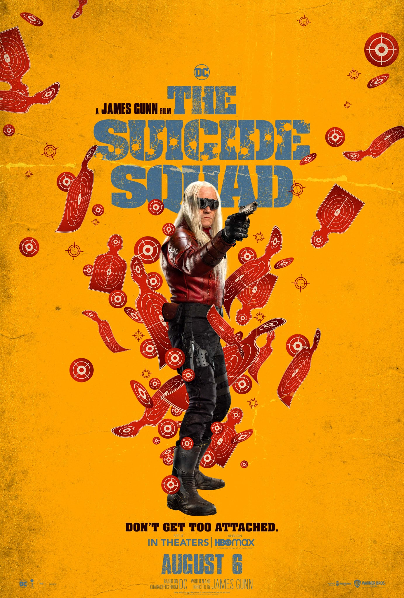 The Suicide Squad character poster