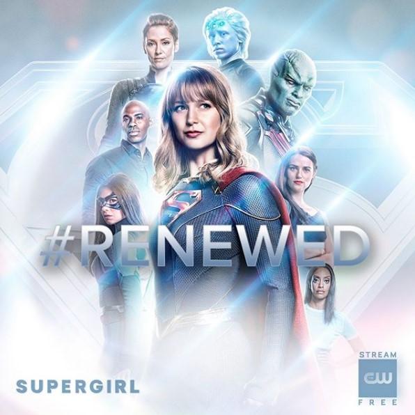 Supergirl renewed